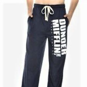 The Office Dunder Mifflin Blue Lounge Pant Size XL